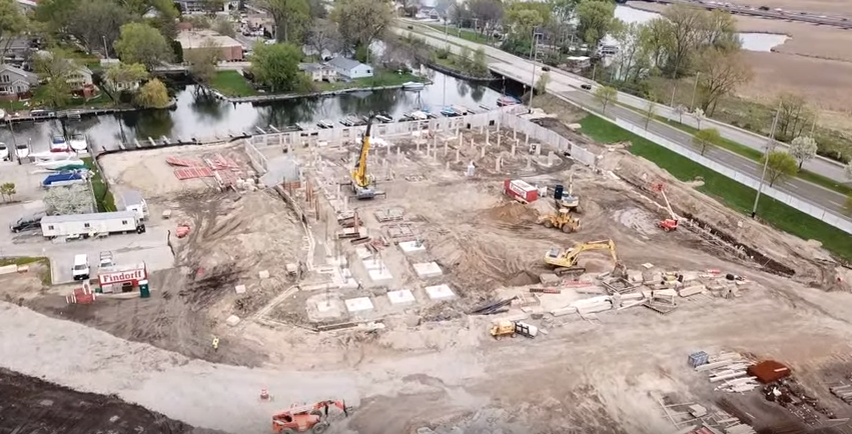 The Current - Monona Riverfront Drone Video May 10, 2018